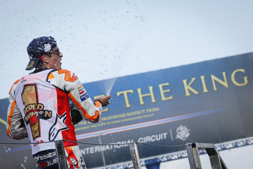 Tay đua Marc Marquez vô địch giải đấu FIM*1 MotoGP lần thứ tư liên tiếp - 2