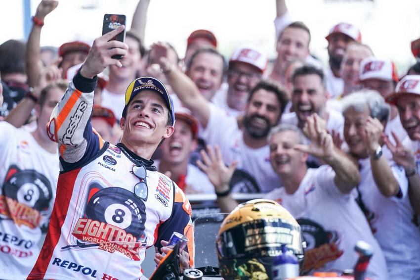 Tay đua Marc Marquez vô địch giải đấu FIM*1 MotoGP lần thứ tư liên tiếp - 12