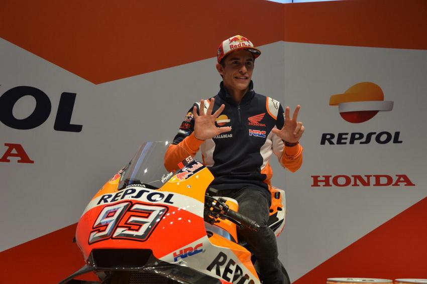 Tay đua Marc Marquez vô địch giải đấu FIM*1 MotoGP lần thứ tư liên tiếp - 13