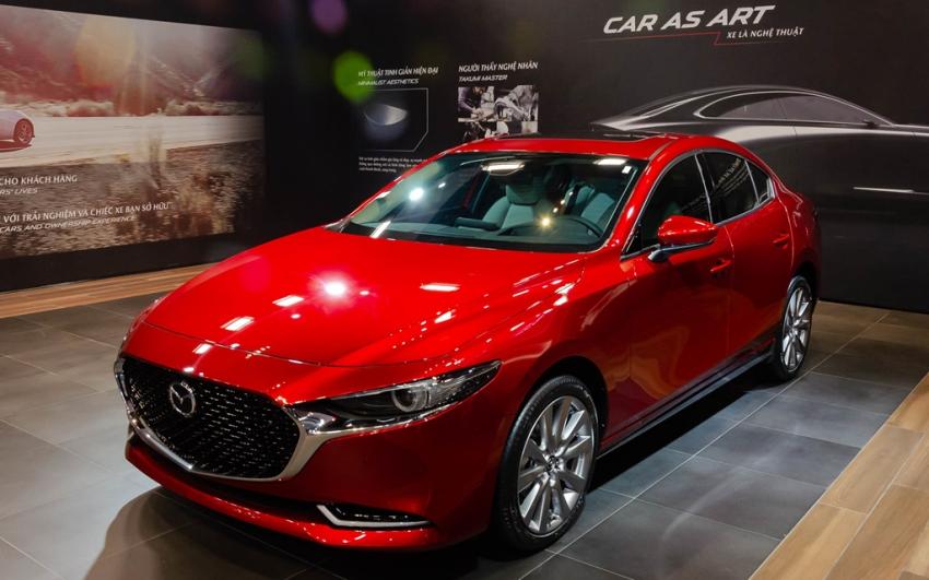 Mazda giới thiệu triết lý thiết kế sản phẩm với mẫu xe Mazda3 thế hệ mới sắp ra mắt - 1