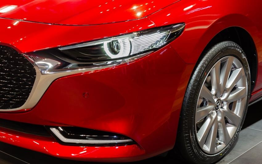 Mazda giới thiệu triết lý thiết kế sản phẩm với mẫu xe Mazda3 thế hệ mới sắp ra mắt - 3