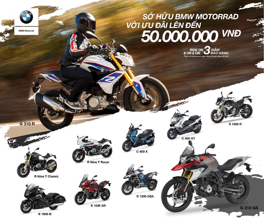 Cuối năm, BMW Motorrad Việt Nam ưu đãi giá bán lên đến 50 triệu đồng - 2