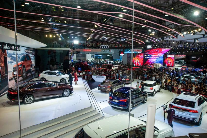 xe Audi tại VMS 2019