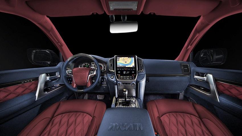 Bản độ mới Toyota Land Cruiser phiên bản 200 Magnum - 8