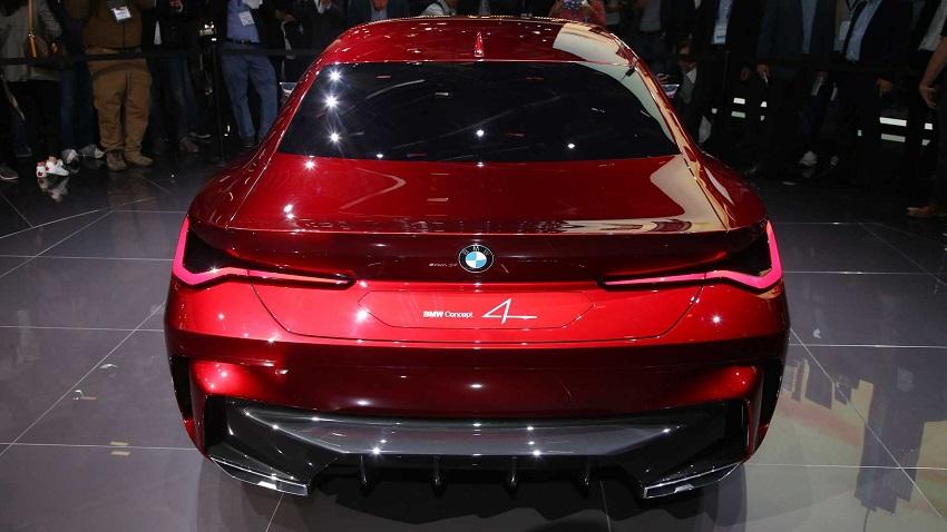BMW Concept 4 trong thiết kế shooting brake sẽ làm bạn quên đi khung lưới tản nhiệt to tướng - 11