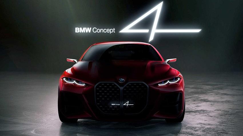 BMW Concept 4 trong thiết kế shooting brake sẽ làm bạn quên đi khung lưới tản nhiệt to tướng - 14