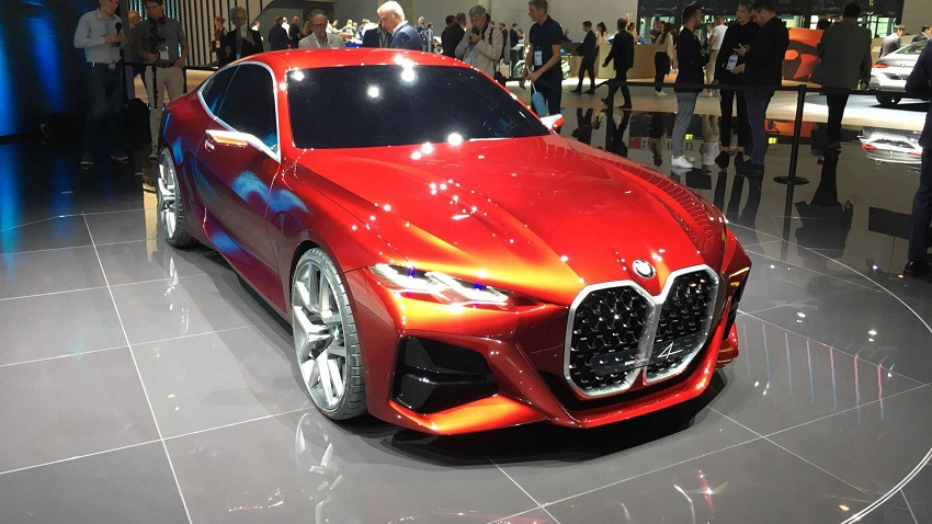 BMW Concept 4 trong thiết kế shooting brake sẽ làm bạn quên đi khung lưới tản nhiệt to tướng - 4