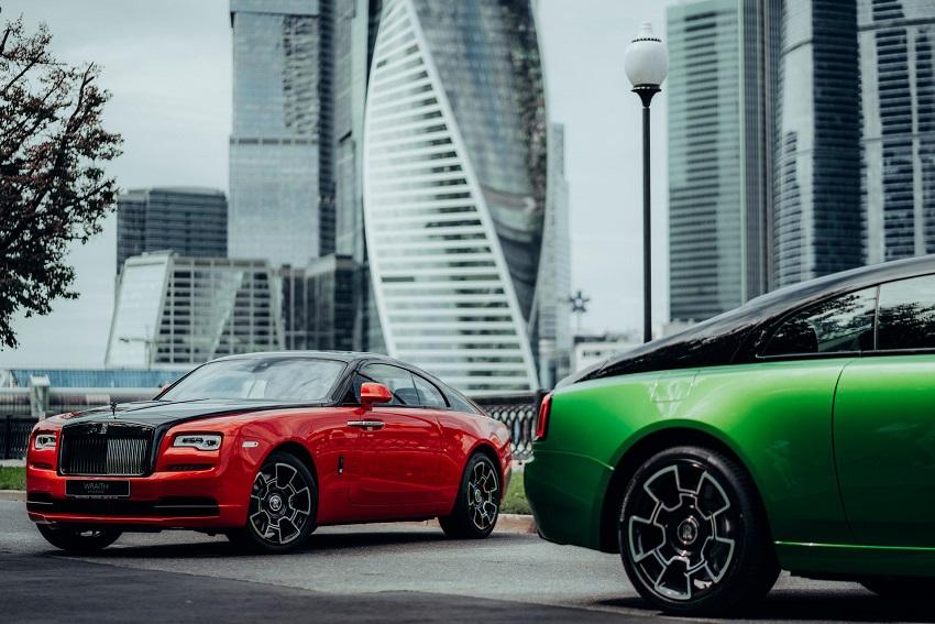 Bộ sưu tập Wraith Black & Bright của Rolls-Royce tỏa sáng tại Moscow - 1