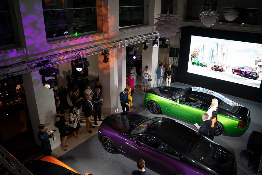 Bộ sưu tập Wraith Black & Bright của Rolls-Royce tỏa sáng tại Moscow - 11