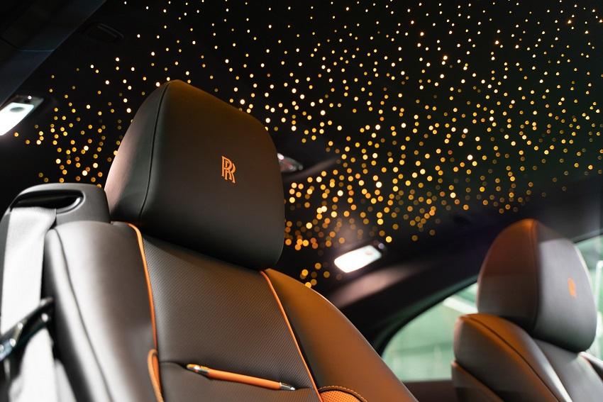 Bộ sưu tập Wraith Black & Bright của Rolls-Royce tỏa sáng tại Moscow - 14