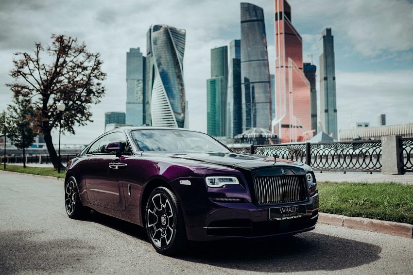 Bộ sưu tập Wraith Black & Bright của Rolls-Royce tỏa sáng tại Moscow - 4