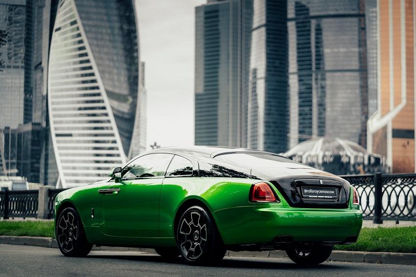 Bộ sưu tập Wraith Black & Bright của Rolls-Royce tỏa sáng tại Moscow - 7