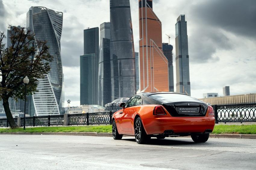 Bộ sưu tập Wraith Black & Bright của Rolls-Royce tỏa sáng tại Moscow - 8