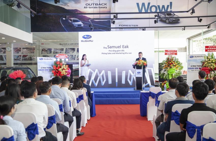đại lý mới Subaru Việt Nam