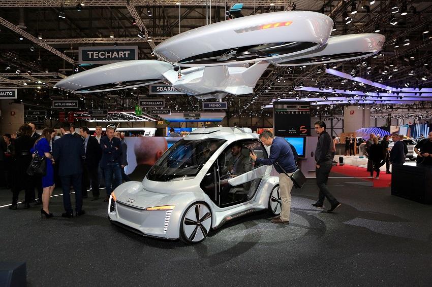 """Audi quyết định """"hạ cánh"""" dự án xe hơi bay - 1"""