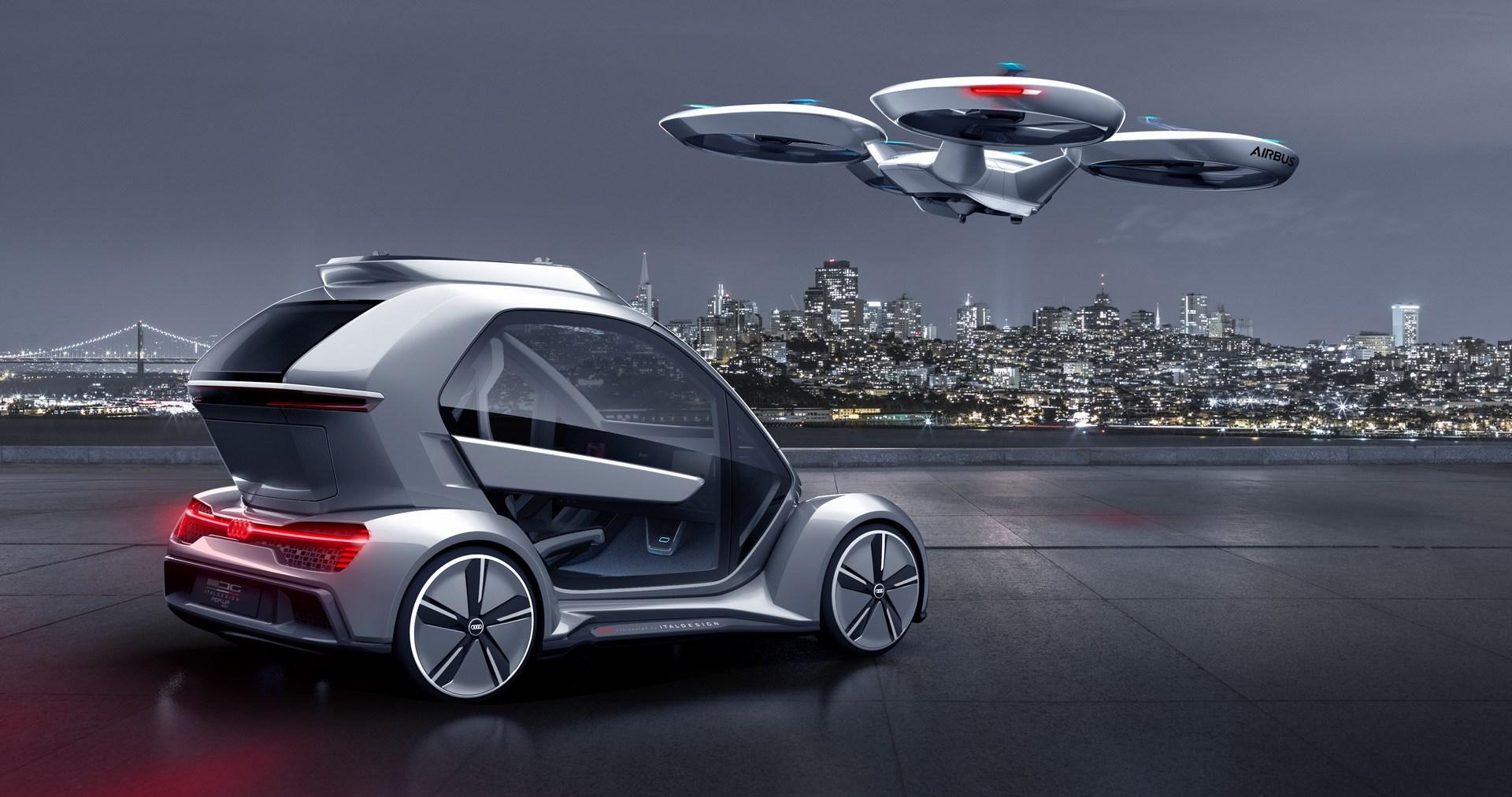 """Audi quyết định """"hạ cánh"""" dự án xe hơi bay - 13"""