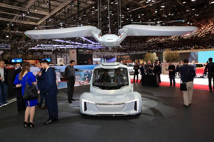 """Audi quyết định """"hạ cánh"""" dự án xe hơi bay - 2"""
