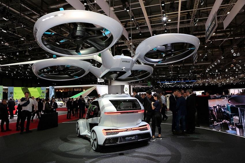 """Audi quyết định """"hạ cánh"""" dự án xe hơi bay - 5"""