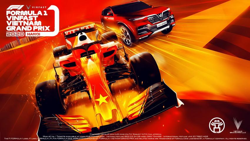 VinFast tài trợ chính chặng đua F1 Việt Nam