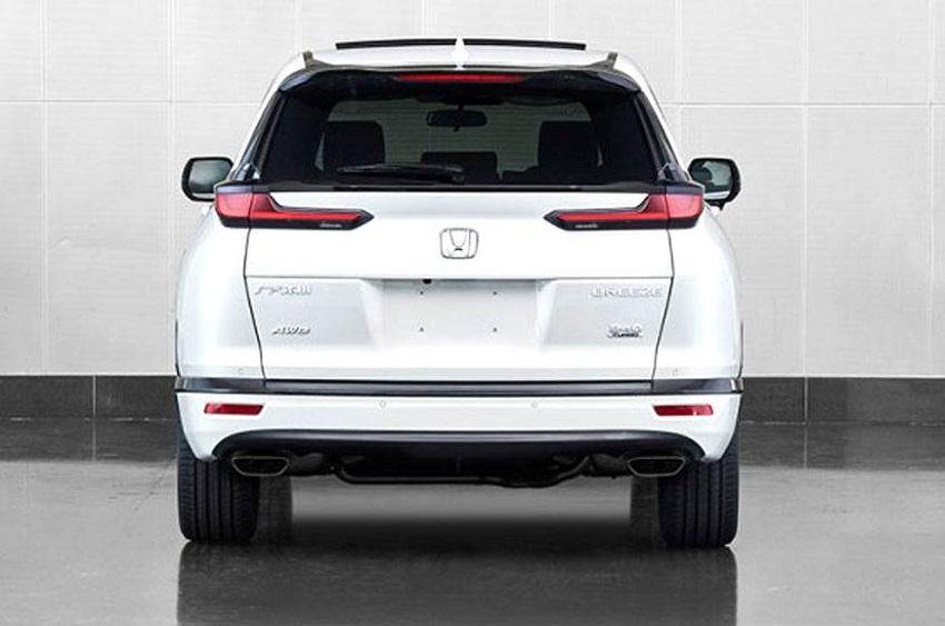 Honda Breeze 2020 mới là một chiếc CR-V sắc nét đi cùng mặt trước của Accord - 4