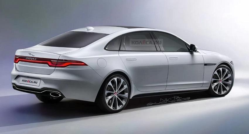 Jaguar XJ mới bản điện hóa hoàn toàn sẽ có diện mạo như thế nào? - 2
