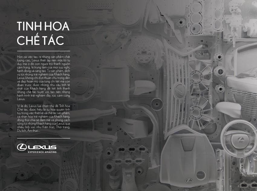 """Lexus mang """"Tinh hoa chế tác"""" đến Triển lãm ô tô Việt Nam 2019 - 2"""