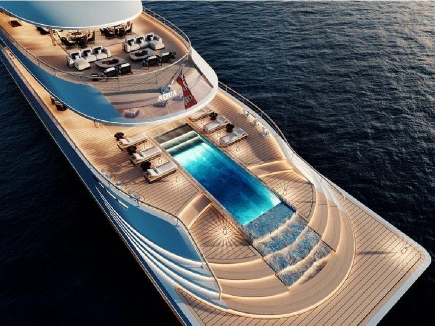 Siêu du thuyền chạy bằng hydro đầu tiên trên thế giới đã ra mắt tại Triển lãm Du thuyền Monaco - 4