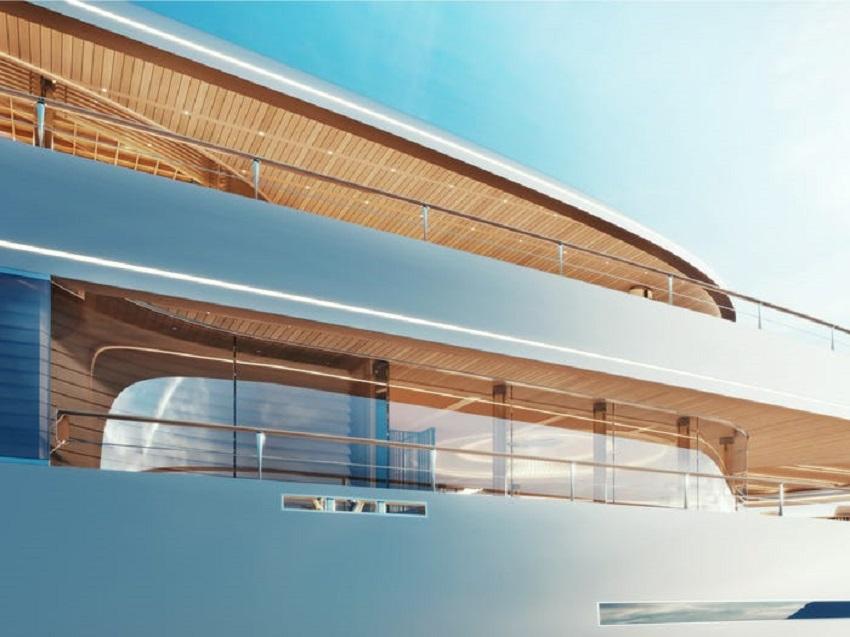 Siêu du thuyền chạy bằng hydro đầu tiên trên thế giới đã ra mắt tại Triển lãm Du thuyền Monaco - 6