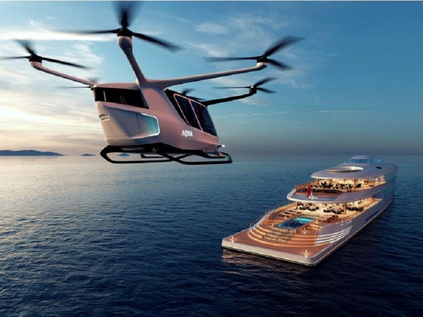 Siêu du thuyền chạy bằng hydro đầu tiên trên thế giới đã ra mắt tại Triển lãm Du thuyền Monaco - 7