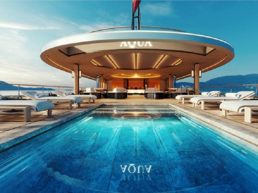 Siêu du thuyền chạy bằng hydro đầu tiên trên thế giới đã ra mắt tại Triển lãm Du thuyền Monaco - 9