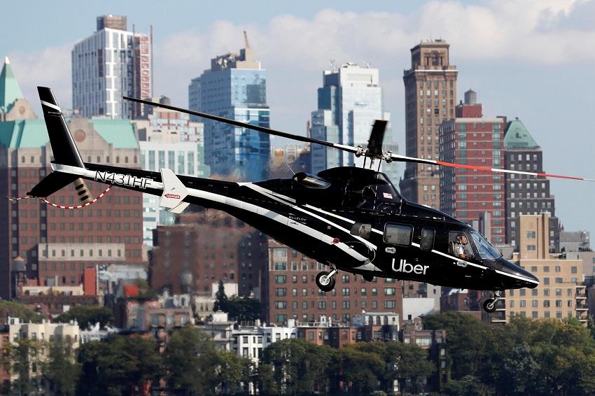 Taxi bay Uber Copter hiện có sẵn cho tất cả người dùng tại New York - 1