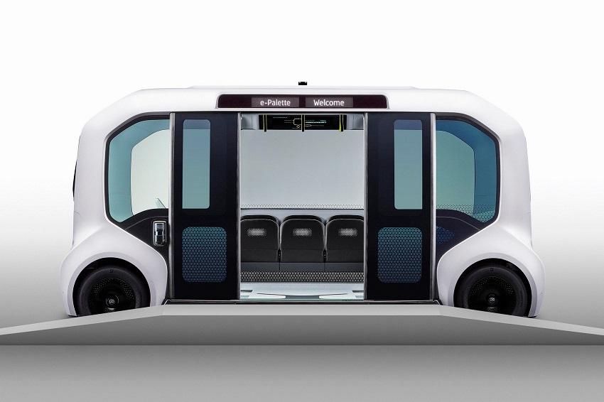 Toyota e-Palette được cập nhật để sử dụng tại Thế vận hội Olympic Tokyo 2020 - 1