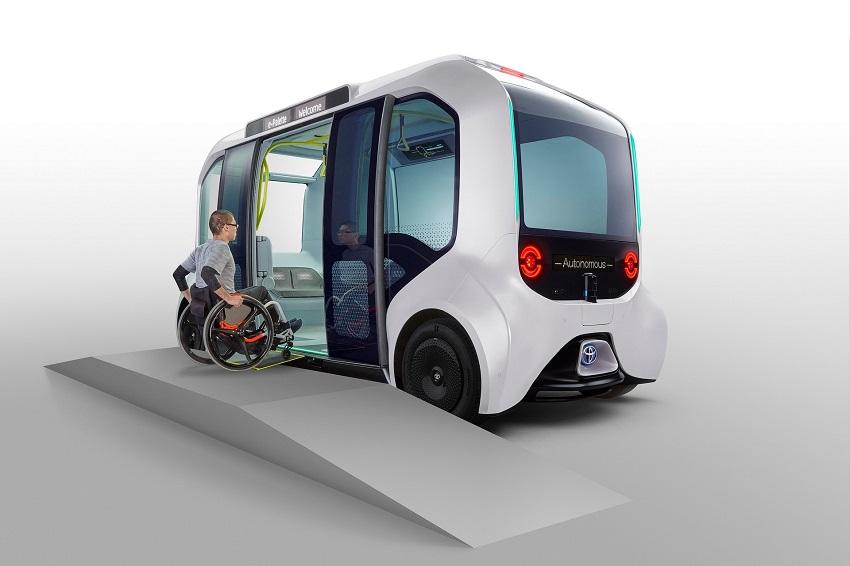 Toyota e-Palette được cập nhật để sử dụng tại Thế vận hội Olympic Tokyo 2020 - 2