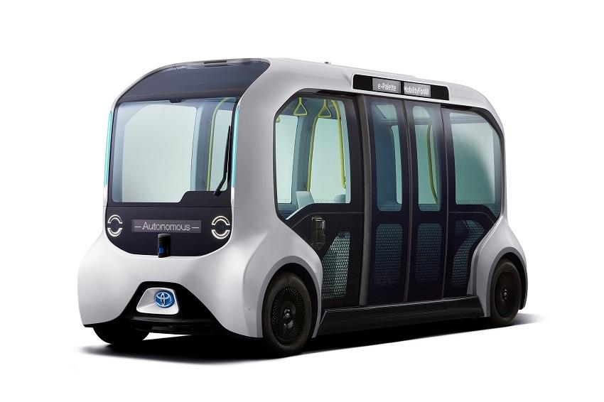 Toyota e-Palette được cập nhật để sử dụng tại Thế vận hội Olympic Tokyo 2020 - 3