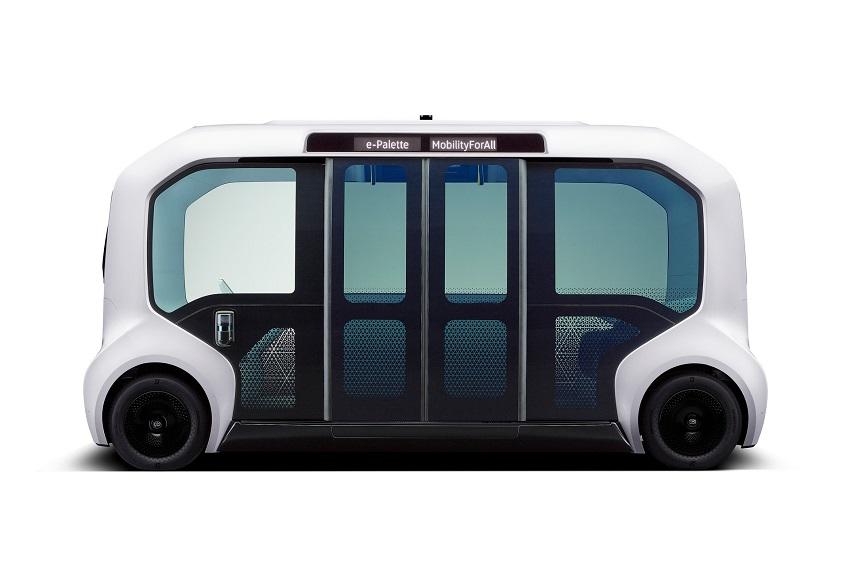 Toyota e-Palette được cập nhật để sử dụng tại Thế vận hội Olympic Tokyo 2020 - 4