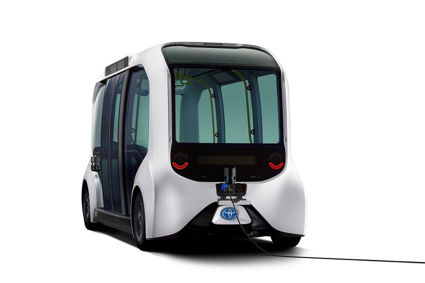 Toyota e-Palette được cập nhật để sử dụng tại Thế vận hội Olympic Tokyo 2020 - 6