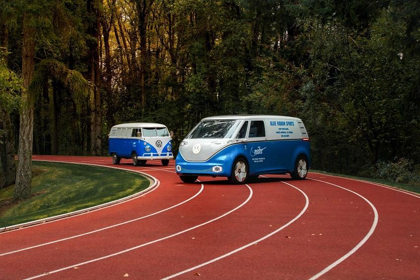 VW và hãng giày Nike cập nhật mẫu xe concept ID Buzz Cargo Concept - 1