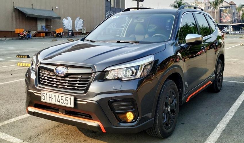 """Subaru tiếp tục giảm giá Forester """"đấu"""" Honda CR-V tại Việt Nam -4"""