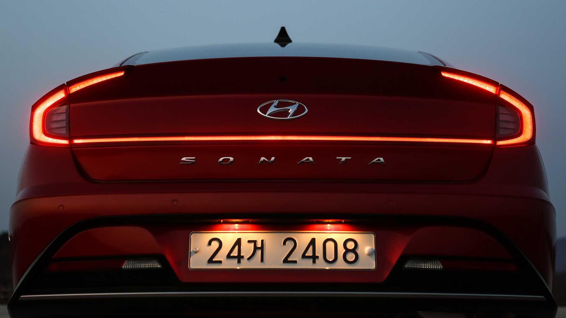 Hyundai Sonata 2020 N-Line sắp trình làng - 24