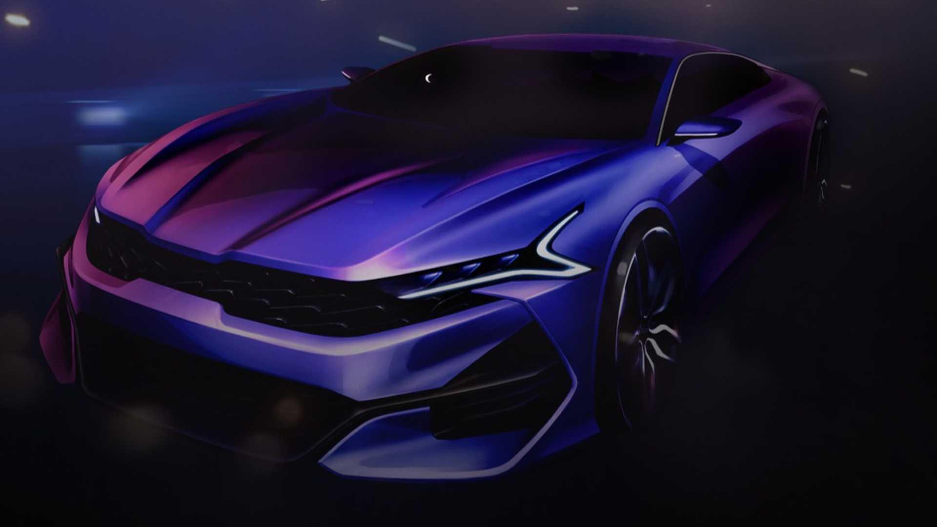 Kia Optima 2021 lộ diện với thiết kế thể thao - 8
