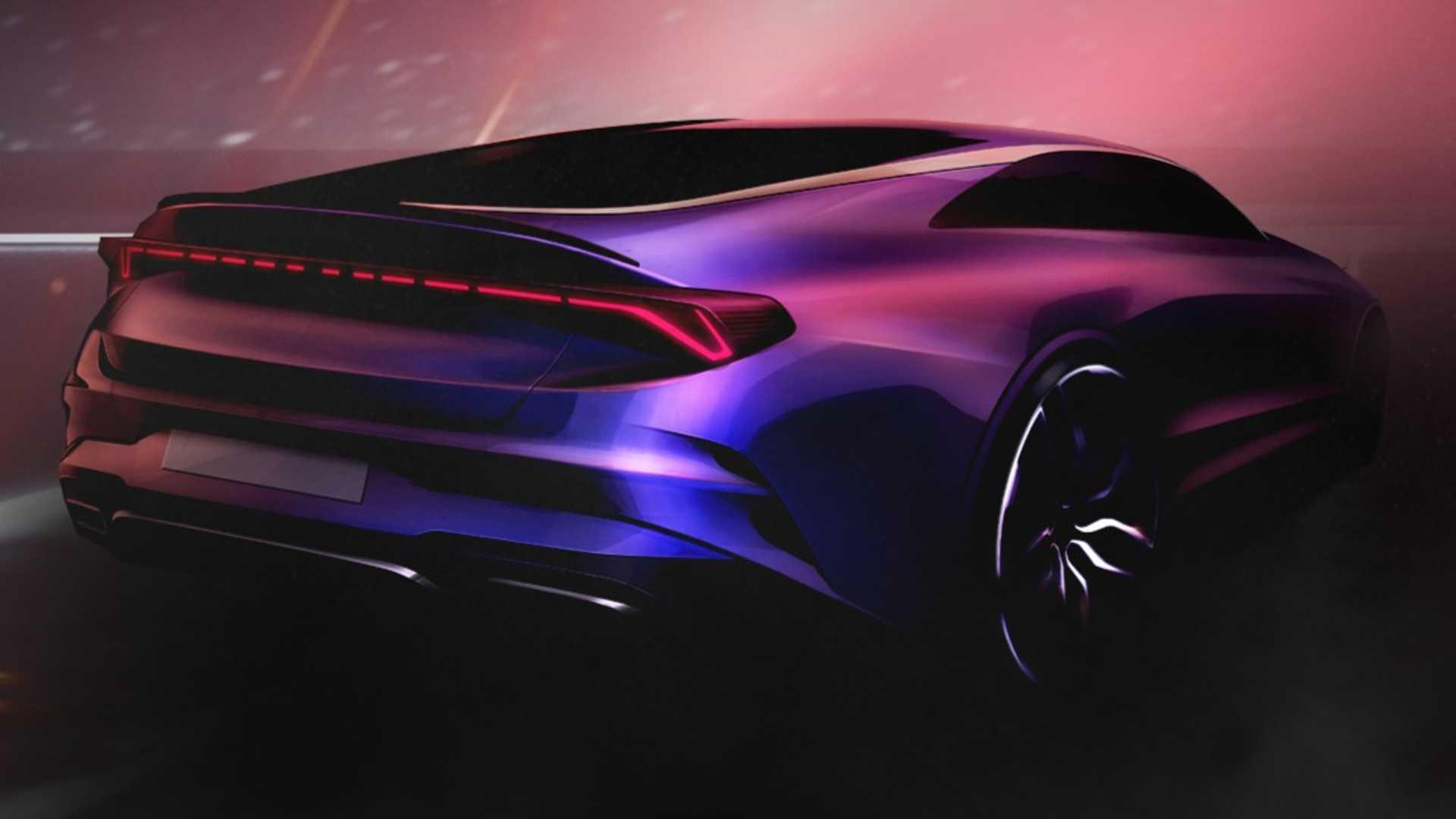Kia Optima 2021 lộ diện với thiết kế thể thao - 3