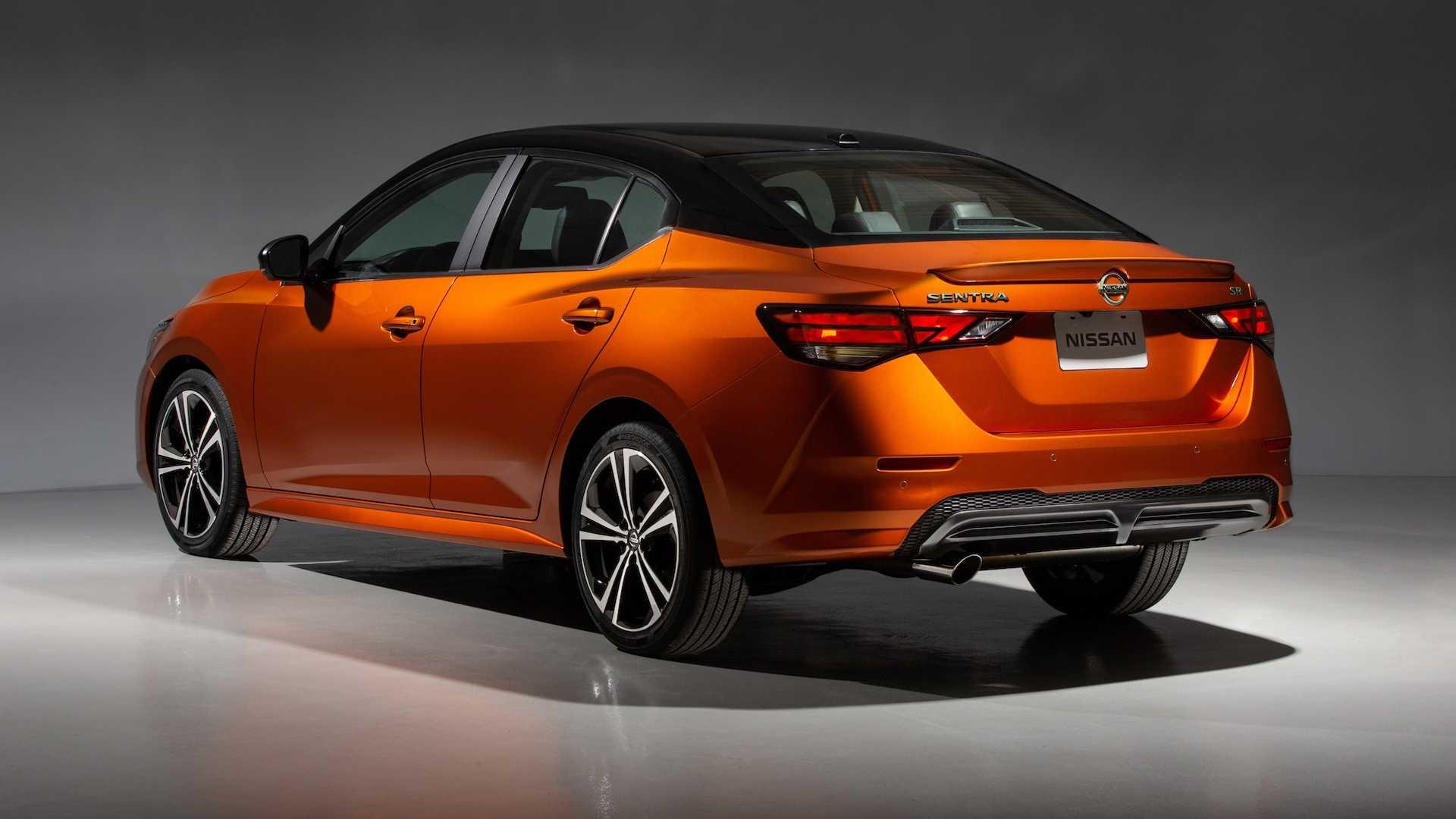 Nissan Sentra thế hệ mới đối đầu trực tiếp với Honda Civic hay Mazda3 -