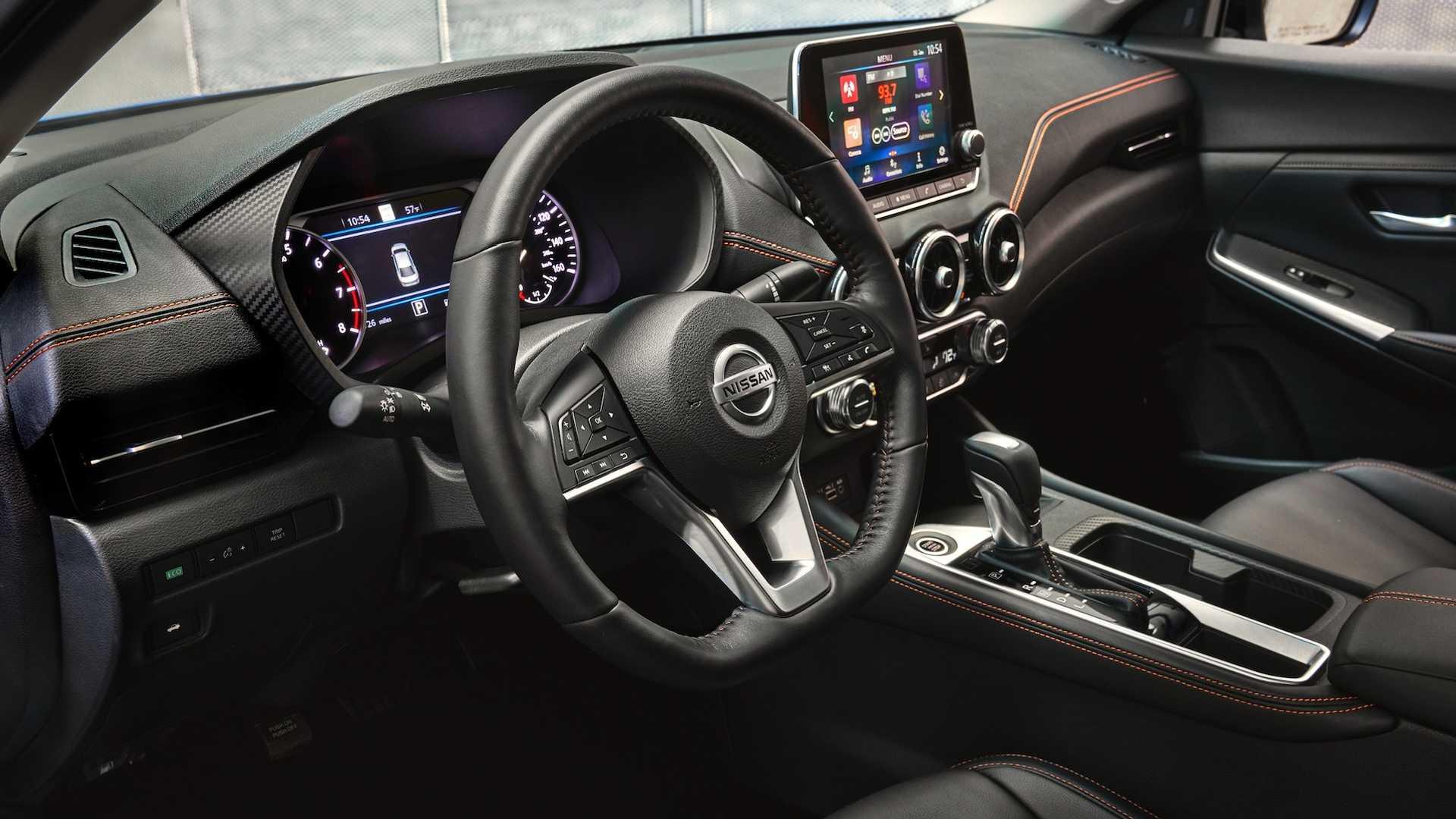 Nissan Sentra thế hệ mới đối đầu trực tiếp với Honda Civic hay Mazda3 - 21