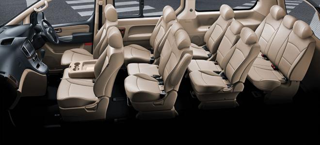 Hyundai giới thiệu dòng xe H1 và Grand Starex - 3