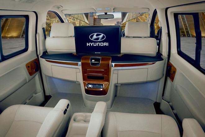 Hyundai giới thiệu dòng xe H1 và Grand Starex - 11