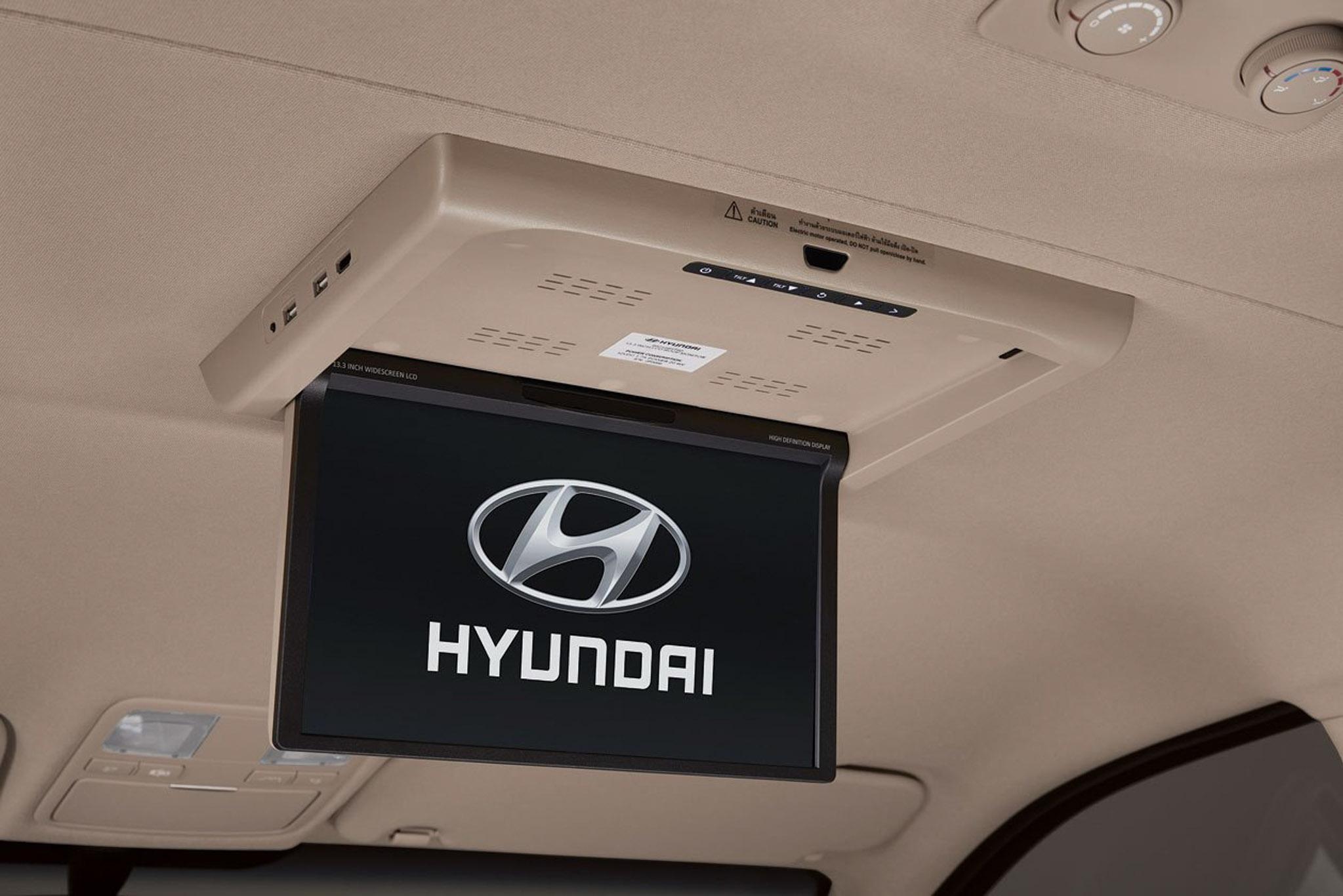 Hyundai giới thiệu dòng xe H1 và Grand Starex 14