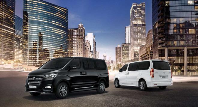 Hyundai giới thiệu dòng xe H1 và Grand Starex 16