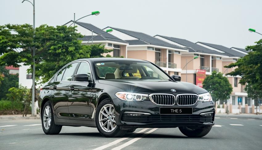 BMW ưu đãi dịp năm mới 2020