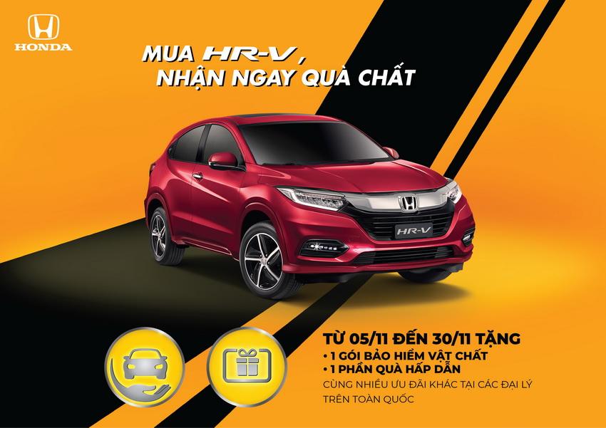 chương trình khuyến mãi xe Honda HR-V