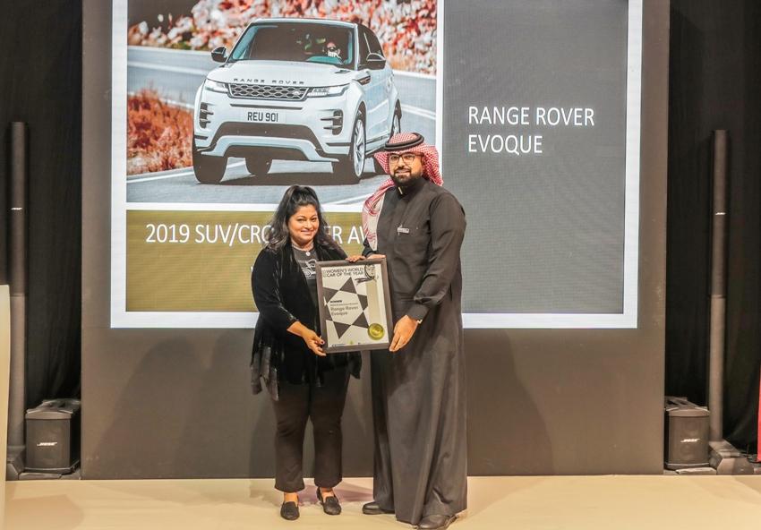 Range Rover Evoque mới nhận giải thưởng mẫu SUV/Crossover của năm 2019 - 1